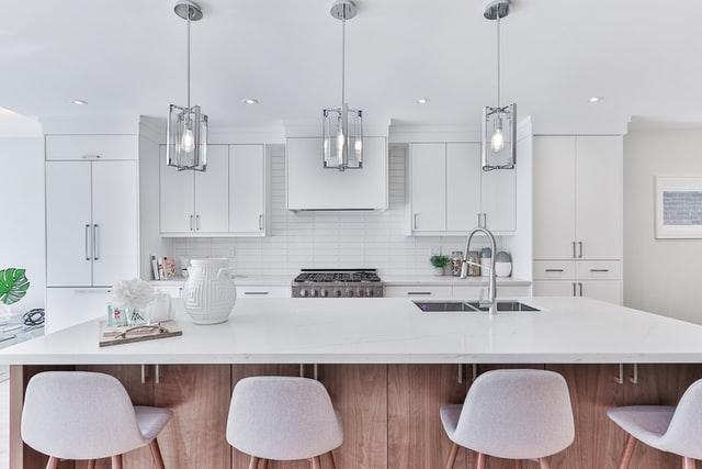 keuken met een moderne uitstraling