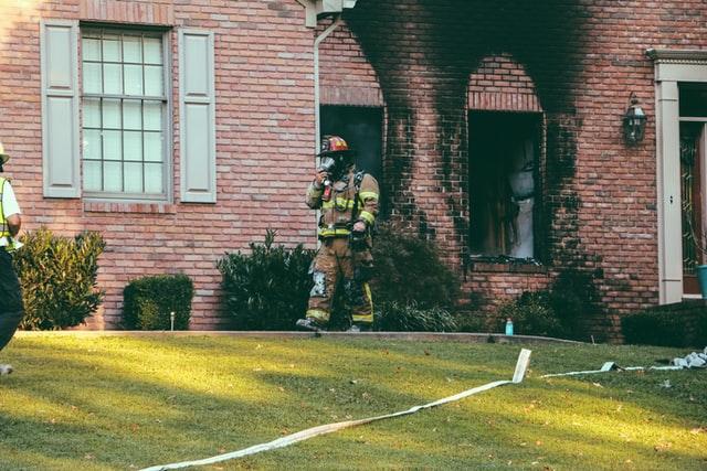 Wat te doen na brandschade in huis